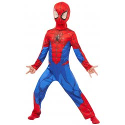 Rubies Carnaval Costume Classic Spider-Man (7-8 years) 640840L 883028284580