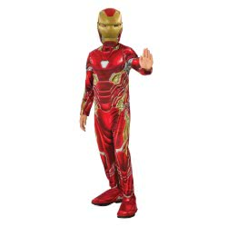 Rubies Carnaval Costume Iron Man Infinity War (5-7 Years) 641051M 883028298815