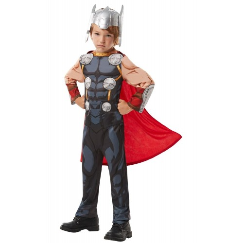 Rubies Carnaval Costume Marvel Avengers Thor (3-4 Years) 640835S 883028284214