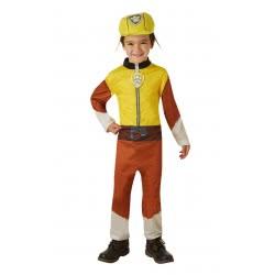 Rubies Αποκριάτικη Στολή Paw Patrol Rubble (3-4 χρονών) 630720S 883028212187