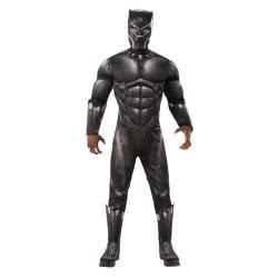 Rubies Αποκριάτικη Στολή Μαύρος Πάνθηρας Black Panther Deluxe (3-4 Χρονών) 641048S 883028298518