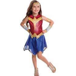 Rubies Αποκριάτικη Στολή Wonder Woman Justice League (3-4 Χρονών) 640024S 883028235148