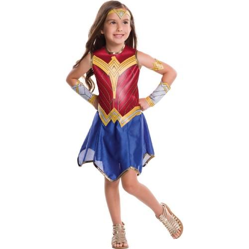 Rubies Αποκριάτικη Στολή Wonder Woman Justice League (5-7 χρονών) 640024M 883028235186