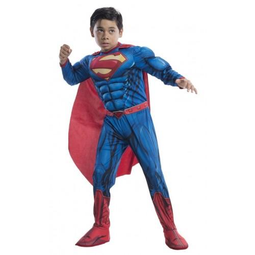 Rubies Αποκριάτικη Στολή Deluxe Superman Justice League (3-4 Χρονών) 640104S 883028239597