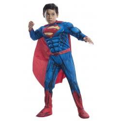 Rubies Αποκριάτικη Στολή Deluxe Superman Justice League (8-10 χρονών) 640104L 883028239610