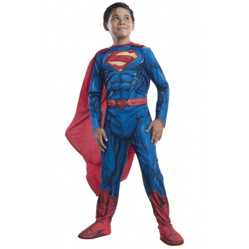 Rubies Αποκριάτικη Στολή Κλασσικός Superman Justice League (5-6 χρονών) 640103M 883028239542