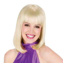 fun world Wig Blonde Hair 9301 5212007554676