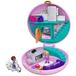 Mattel Polly Pocket Pocket World Donut Pajama Party FRY35 / GDK82 887961745917