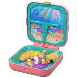 Mattel Polly Pocket Δώρο Έκπληξη - Γοργονοσπηλιά GDK76 / GDK77 887961745894
