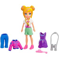 Mattel Polly Pocket Doll with Clothes New York Fashion Pack GDM01 / GDM02 887961747225
