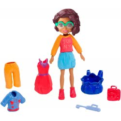 Mattel Polly Pocket Doll with Clothes NYC Style Pack GDM01 / GDM03 887961747218