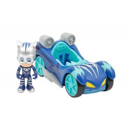 GIOCHI PREZIOSI PJ Masks Turbo Blast Vehicle With Figure Cat-Car PJM44500 8056379050162