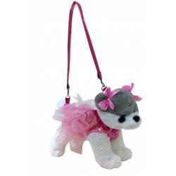 Just toys Doggie Star Λούτρινο Κουταβάκι Τσαντάκι - 6 Σχέδια DS19 8426842054698