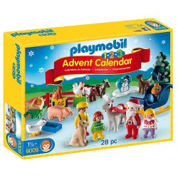 Playmobil 1.2.3 Advent Calendar Christmas On The Farm 9009 4008789090096