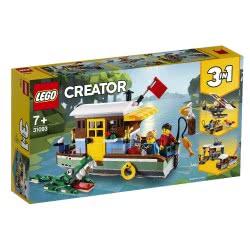 LEGO Creator Πλωτό Σπίτι στο Ποτάμι - Riverside Houseboat 31093 5702016367874