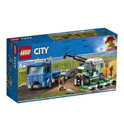 LEGO City Μεταφορικό Οχήματος Συγκομιδής - Harvester Transport 60223 5702016369557
