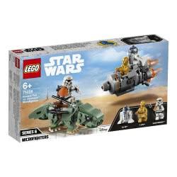 LEGO Star Wars Tm Άτρακτος Διαφυγής Εναντίον Dewback Microfighters 75228 5702016370379