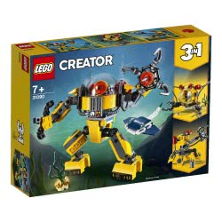 LEGO Creator Υποβρύχιο Ρομπότ - Underwater Robot 31090 5702016367850