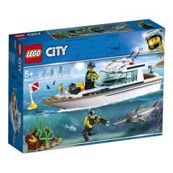 LEGO City Γιωτ Καταδύσεων - Diving Yacht 60221 5702016369533