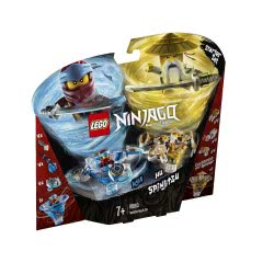 LEGO Ninjago Σπιντζίτσου Νία Και Γου - Spinjitzu Nya And Wu 70663 5702016367331