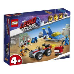 LEGO Movie 2 Emmet And Bennys Build And Fix Workshop! 70821 5702016367935