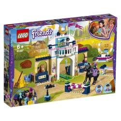 LEGO Friends Υπερπήδηση Εμποδίων Με Άλογα Της Στέφανι 41367 5702016369427
