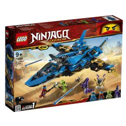 LEGO Ninjago Το Μαχητικό Καταιγίδας Του Τζέι 70668 5702016367485
