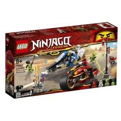 LEGO Ninjago Δίτροχο Με Λεπίδες Του Κάι Και Όχημα Χιονιού Του Ζέιν 70667 5702016367478