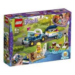 LEGO Friends Το Μπάγκι και Τρέιλερ της Στέφανι 41364 5702016369397
