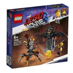 LEGO Movie 2 Battle-Ready Batman And Metalbeard 70836 5702016368192