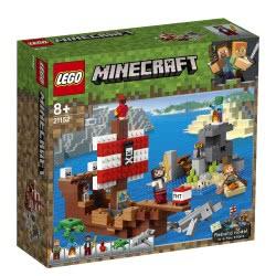 LEGO Minecraft Η Περιπέτεια του Πειρατικού Πλοίου - The Pirate Ship Adventure 21152 5702016370904
