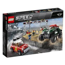 LEGO Speed Champions 1967 Mini Cooper S Rally And 2018 MINI John Cooper Works Buggy 75894 5702016370980