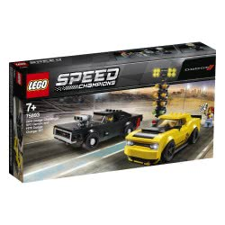 LEGO Speed Champions 2018 Dodge Challenger SRT Demon And 1970 Dodge Charger R/T 75893 5702016370973
