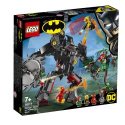LEGO Super Heroes Ρομποτική Στολή Μπάτμαν Εναντίον Ρομποτικής Στολής Πόιζον Αιβυ 76117 5702016368901