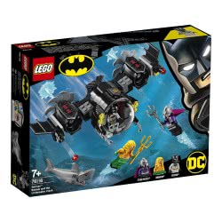 LEGO Super Heroes Το Μπατ Υποβρύχιο Του Μπάτμαν Και Η Υποβρύχια Σύγκρουση 76116 5702016368895