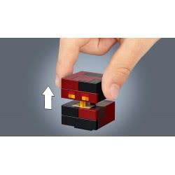 LEGO Minecraft BigFig Σκελετός με κύβο από μάγμα 21150 5702016370881