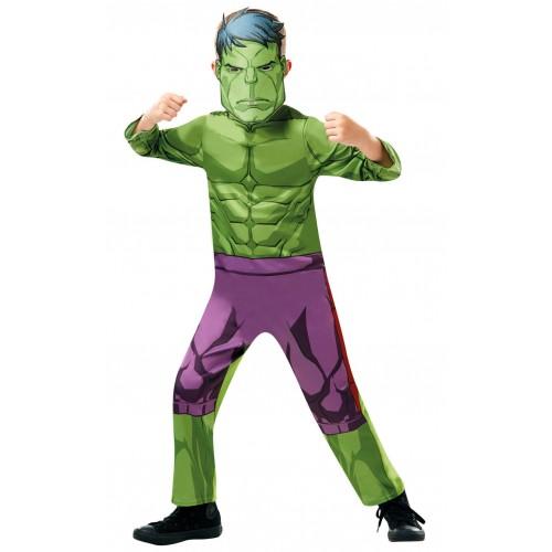 Rubies Carnaval Costume Hulk Νο. L (7-8 Years) 640838L 883028284429