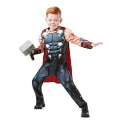 Rubies Carnaval Costume Thor Deluxe Νο. S (3-4 Years) 640836S 883028284283