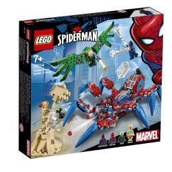 LEGO Marvel Super Heroes Σπάιντερ Όχημα Του Σπάιντερ Μαν 76114 5702016368871