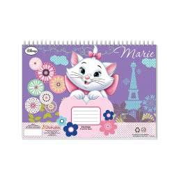 Diakakis imports Μπλοκ Ζωγραφικής Marie Cat 23x33cm 40 Φύλλα - 2 Σχέδια 561597 5205698258145