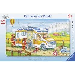 Ravensburger Παζλ Καρτέλα 15 Τεμ. Ασθενοφόρο 6170 4005556061709