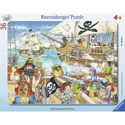 Ravensburger Παζλ Καρτέλα 36 Τεμ. Πειρατές 6165 4005556061655