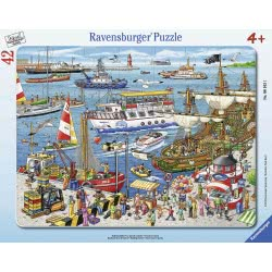 Ravensburger 42 pcs Frame Puzzle Port 6163 4005556061631