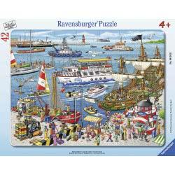Ravensburger Παζλ Καρτέλα 42 Τεμ. Λιμάνι 6163 4005556061631