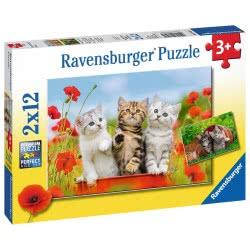 Ravensburger 2x12 pcs Puzzle Cats 7626 4005556076260