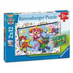 Ravensburger 2X12 Pcs Puzzle Paw Patrol 7613 4005556076130