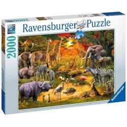 Ravensburger Παζλ 2000 τεμ. Ζώα της Αφρικής 16702 4005556167029