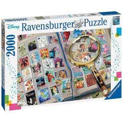 Ravensburger Παζλ 2000 Τεμ. Γραμματόσημα Disney 16706 4005556167067