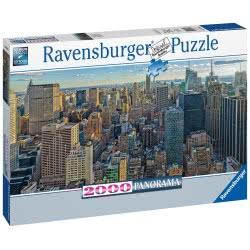 Ravensburger Παζλ 2000 Τεμ. Νέα Υόρκη - Πανόραμα 16708 4005556167081
