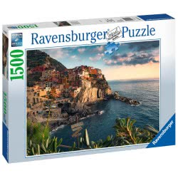 Ravensburger Παζλ 1500 Τεμ. Cinque Terre 16227 4005556162277